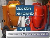 mezcladoras para construcción envíos a nivel nacional