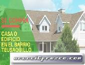 Se compran casas o edificios en el barrio Teusaquillo