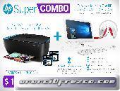 SUPER COMBO! En Mercadolibre HP Montaría