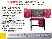Mesa De Trabajo Y Herramientas Moduplastic Ref. Ms Tipo- G