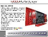 Tablero Porta Herramientas Moduplastic Ref. Tbl Tipo - B