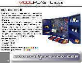 Tablero Con Gavetas Y Puertas Moduplastic Ref. Tbl Tipo - D