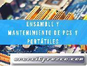 Ensamble y Mantenimiento de PCs y Portátiles.