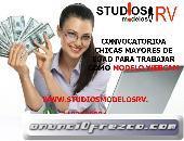 BUSCAMOS MODELOS WEBCAM, PAGOS SEMANALES