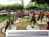 fabricacion de parques biosaludables,parques biosaludables