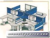 Muebles y divisiones para oficina
