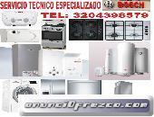 SERVICIO TECNICO ESPECIALIZADO DE  CALENTADORES  BOSCH 3204398579
