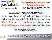 CALENTADOR A GAS - MANTENIMIENTOS ESTUFAS CALENTADORES