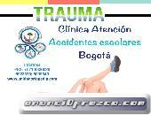 accidentes escolares en Ortopedia y Trauma Bogota
