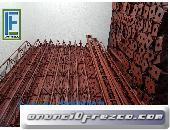 CERCHA METALICA DE 3.00MT PARAL METALICO, ANDAMIO.