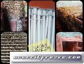 PUNTALES, PARALES METÁLICOS Y CERCHAS PARA CONSTRUCCIÓN