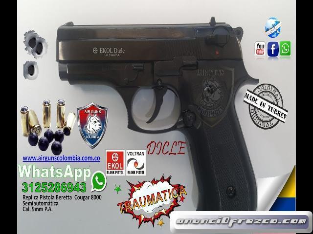 Pistola Traumatica Airguns Colombia WhatsApp 3125286943 3213112973