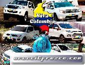 CAMIONETAS 4X4 CON PLATON ALQUILER EMPRESAS