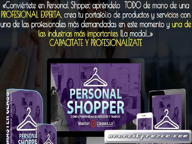 Personal Shopper como oportunidad de crecimiento. Moda y tendencia
