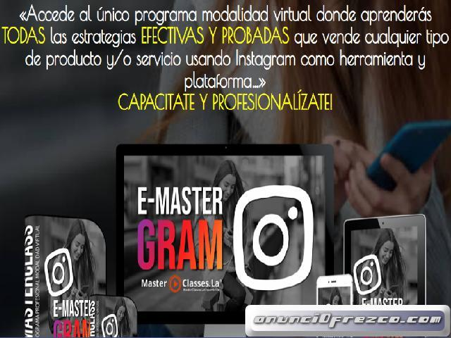 E-Mastergram Instagram. Marketing Digital