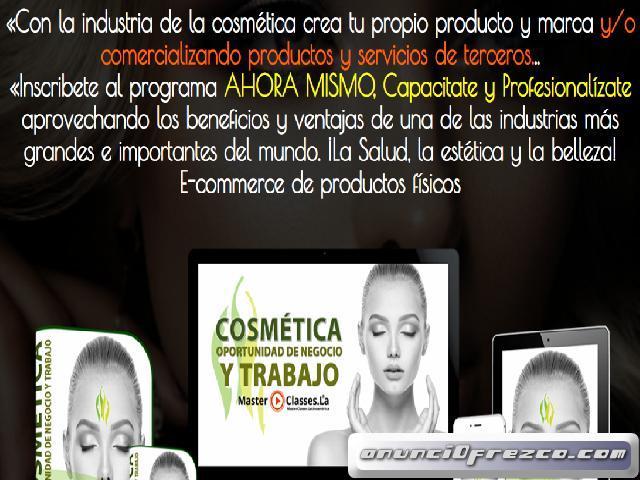 Cosmetica como oportunidad de crecimiento. Marketing Digital y Comercio electrónico