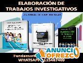 INVESTIGACIONES ACADÉMICAS Y CIENTIFICAS