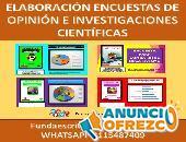 ENCUESTAS DE OPINIÓN