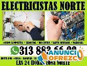ELECTRICISTAS COLINA CAMPESTRE CEL: 313 883 66 99