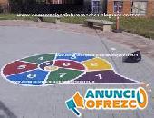 Recubrimientos y pinturas de campos deportivos Bogota 3102769797