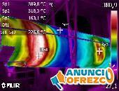 Termografía para inspección de red eléctrica cel 316 8726521