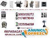 cali, servicio tecnico para equipos a gas cel 3003028272