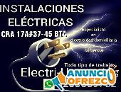 Electricista,Nicolás de Federman, Chapinero, Quinta paredes, Las américas, Campin, Marly,La soledad.