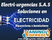 Electricista,electricidad residencial,emergencias,iluminacion,material electrico.
