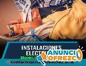 Electricista,Santa teresita,cataluña,lourdes,los rosales,san luis,centro.
