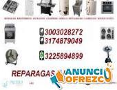 Asadores a gas nacionales e importados 300 3028 272