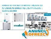 Calentadores Mabe - Servicio técnico Barranquilla   3144476205