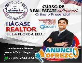 Curso de Real Estate en Español, Inscripciones abiertas