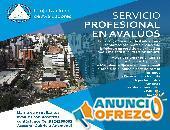 Servicio profesional en Avalúos