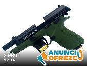 Pistolas traumáticas para tiro deportivo y defensa personal.